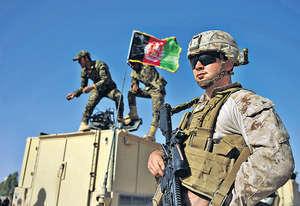 美國最新的阿富汗策略,主要是賴着不走還可能增兵直到「打贏」反恐戰,這反映美國地緣策略正處高度不明確狀態,其穩定性及可行性成疑。(法新社資料圖片)
