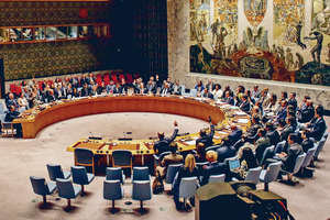 聯合國安理會一致通過向北韓實施新制裁,回應北韓進行第6次核試,但制裁力度遠較預期輕。(法新社圖片)
