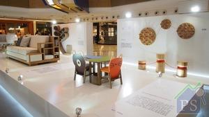 HKDI傢俱及時尚產品設計高級文憑學生的傢俱設計新穎獨特,以「溝通」、「空間」、「文化」及「生活」為主題。