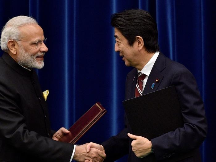 正在印度訪問的日本首相安倍晉三,將與日本首相莫迪舉行一年一度的首腦會談。