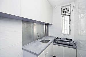 廚房空間略窄(黃建輝攝)