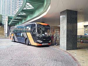 屋苑備有住客巴士來往東涌站(代理提供)