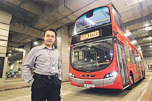 楊晉瑋認為,可從多個角度理解「學以致用」。他在美國讀書時,部分課程也與交通有關。(曾有為攝)