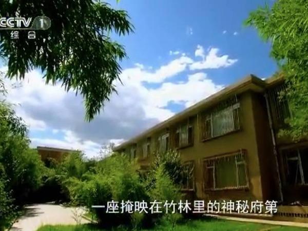 谷俊山在北京的「將軍府」。