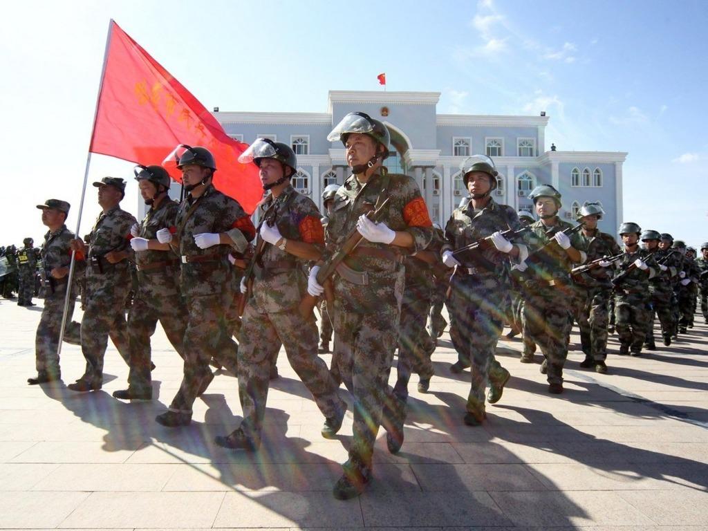 新疆十九大前加強維穩。