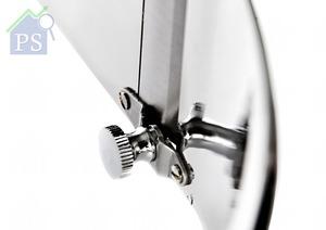 底部的刀口位置以螺絲繫穩,鬆緊度可以微調,從而控制松露片的厚薄。