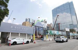 會德豐90億元沽出觀塘8 Bay East全幢商廈,平均呎價約1.5萬元。