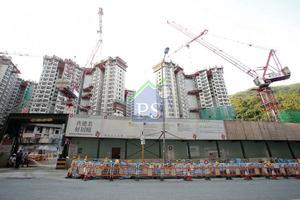 4800個新綠置居單位,位於火炭黃竹洋街,6幢26至36層樓高正在施工,最快明年底推售。