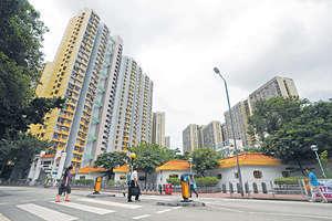 黃大仙下邨施政報告公布後,兩房戶以綠表價320萬元沽,屬今年樓價次高。(資料圖片)