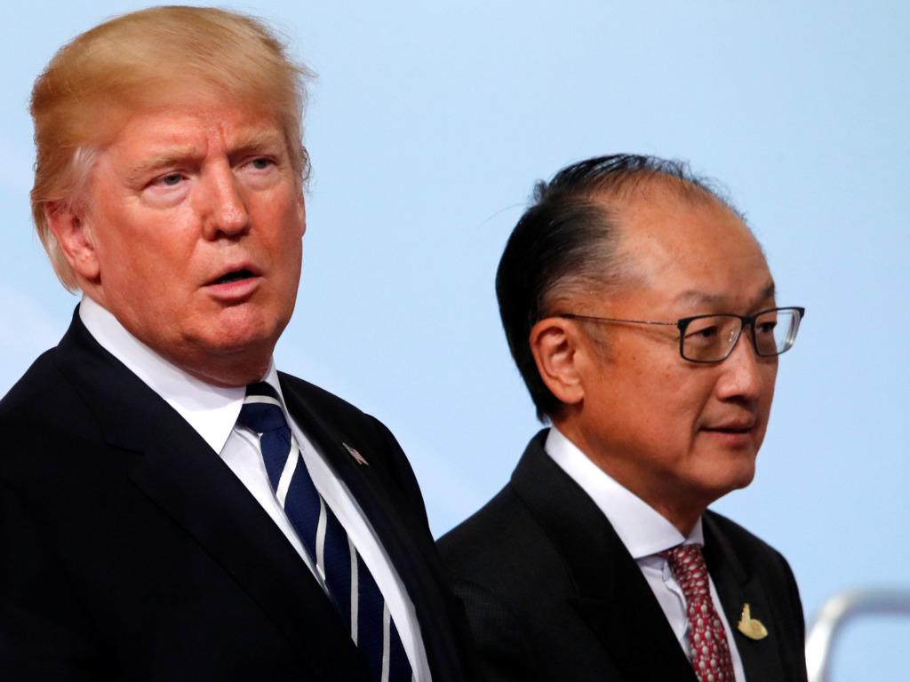 外媒報道特朗普政府拒為世界銀行增資,迫使其改變對華放貸政策。