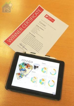以共享蝸居為概念的香港學生設計「CONNEX」,首度揚威德國。
