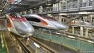 港鐵訂購的高鐵列車,目前停放在石崗。