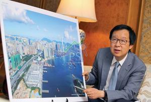 新地銳意發展西九龍一帶,集團副董事總經理雷霆指,匯璽II擁有海景優勢,與剛投得的長沙灣興華街酒店項目,帶來協同效應