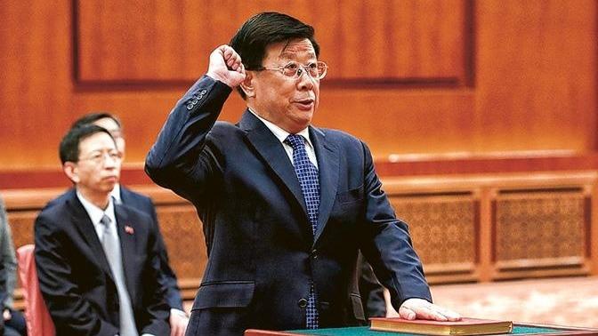 趙克志接任公安部部長後,護航金融安全成為重要任務。