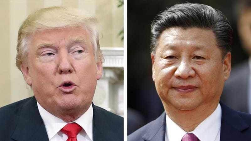 國家主席習近平今天緊接美國總統特朗普,國事訪問越南,預計中越南海領土主權爭議。