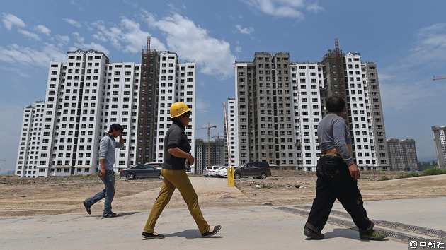 繼1-9月房地產投資增速小幅提升後,1-10月內地房地產投資增速再次放緩至8%以下。