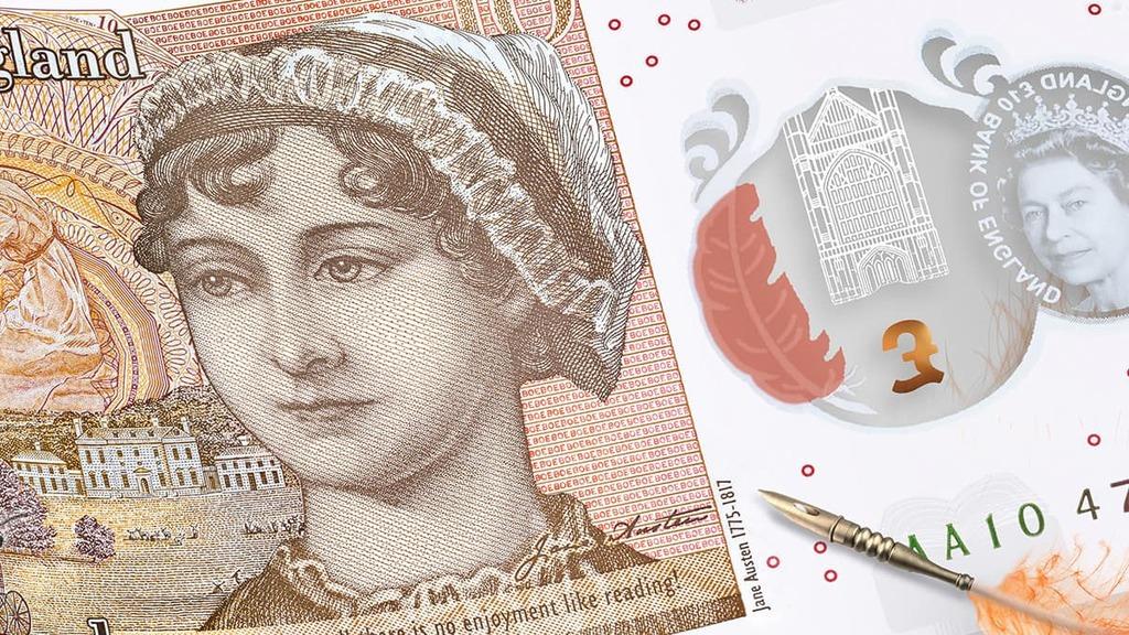新的10鎊鈔票已在9月中開始流通