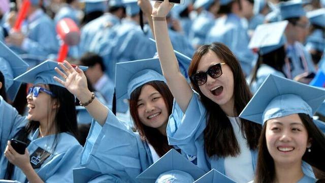中國留美學生在美國國際學生中佔比逾3成,遙遙領先印度、南韓等留學大國