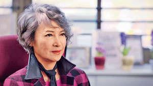 影星蕭芳芳在尋求第二醫療意見後,對自己手術後出現的不良反應放下心頭大石。(資料圖片)