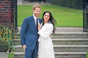 哈里王子與美國影星馬克爾要結婚了,有不少人想打探哈里送給未婚妻的訂婚戒指值多少錢。(法新社資料圖片)