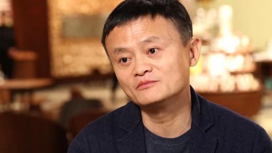 馬雲接受美國CNBC採訪時表示,中國沒有奪走美國人的工作機會。(CNBC網頁圖片)