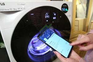 即使不在家,我們也可以透過Wi-Fi控制及監察洗衣狀況。