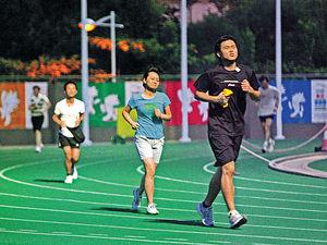 跑步除可帶來健康,還能鍛練意志。(資料圖片)
