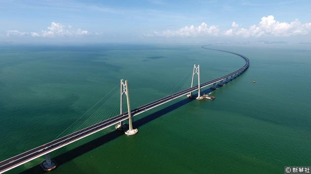 港珠澳大橋已進入通車倒數。