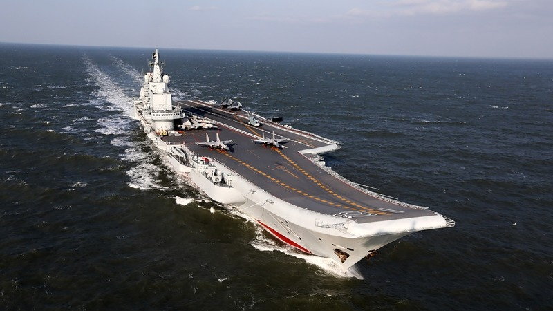 台灣軍方人士證實,大陸遼寧艦航母編隊已於昨天深夜穿越台灣海峽,前往南海艦隊轄區進行訓練。