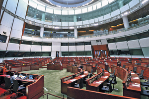立法會現時有6個議席出缺,但因有兩席仍在上訴階段,所以3月只補選4席。(資料圖片)