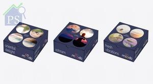 智能香薰機結合了咖啡膠囊的設計概念。