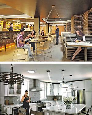 適用於家居及公共空間(如餐廳)的充電設備,有效距離達16呎,覆蓋範圍更可達500呎。(相片由被訪者提供)