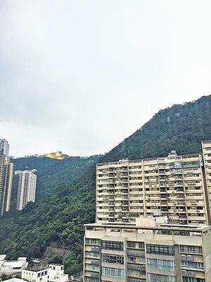 單位外望樓景及遠山景。