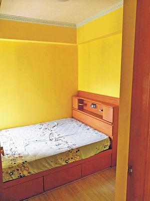 睡房方正,可放置現成寢具。