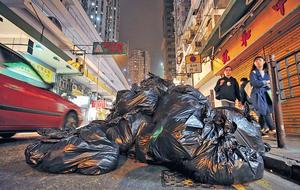 環保署公布2016年都市固體廢物的最新數據,人均垃圾量有增無減,這更代表減廢工作,刻不容緩。(資料圖片)