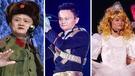 從軍人、MJ到白雪公主,馬雲表演時形象百變。