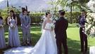 社交媒體上流傳陳曉丹結婚照片。