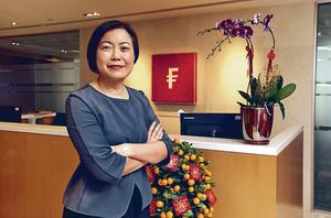 富達東北亞區分銷業務投資策略師陳宇昕預期,今年資金會在板塊中輪換,由估值偏高的板塊轉炒落後。(張永康攝)