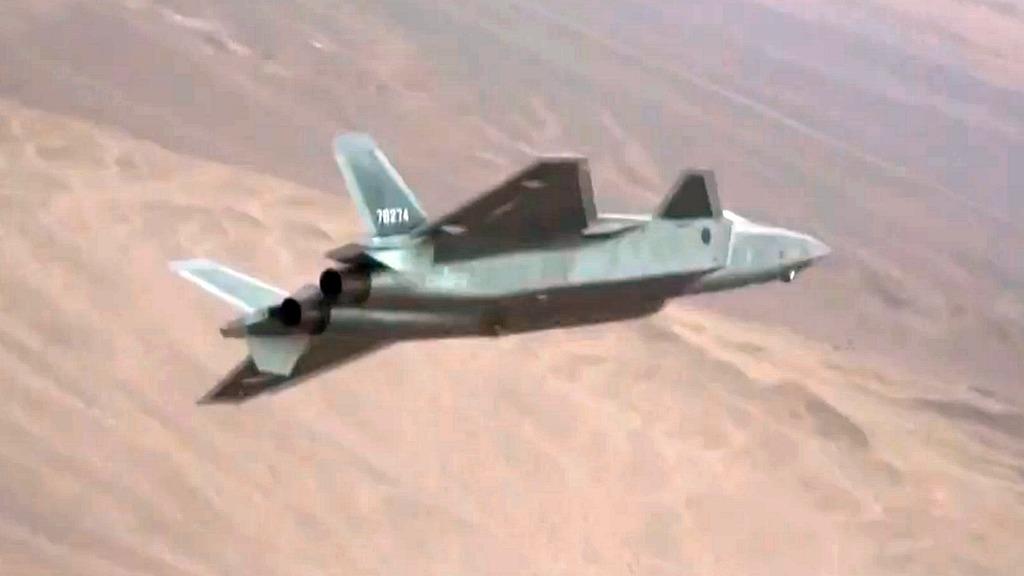 殲-20。