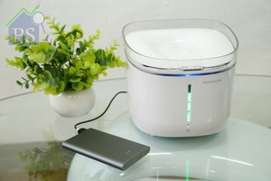為家庭犬及貓貓而設的Wifi版水質檢測飲水機,由香港公司Mewcare花近1年時間自家研發。