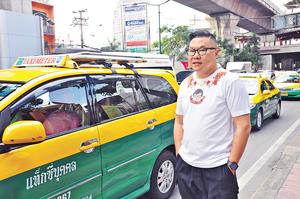 泰國通胡慧沖說,不用擔心遊泰的貴重物品申報問題。(馮柏偉攝)
