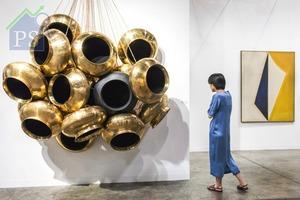 來自韓國的藝廊Arario Gallery,帶來被譽為印度當代藝術教父Subodh Gupta早於2016年已發表的作品。