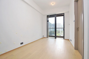 (1座高層A08室)單位採用長廳設計,有利擺放傢俬。(本刊攝影組)