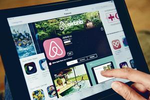 Airbnb可望在獅城合法營運<br>(法新社資料圖片)