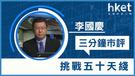 李國慶:挑戰50天綫(短片)