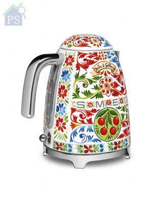 容量為1.7公升的電熱水壺,功率為2400瓦,建議零售價為$4,980。