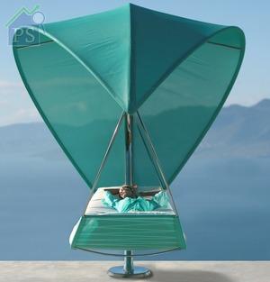 Wave:吊床底部還可添置專屬薄墊,讓你悠然自在地享受日光浴。