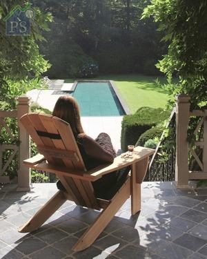 New England:臥椅源自1903年由加拿大設計師Thomas Lee的經典椅作Adirondack,而且蘊藏著人體工學的重要數據。