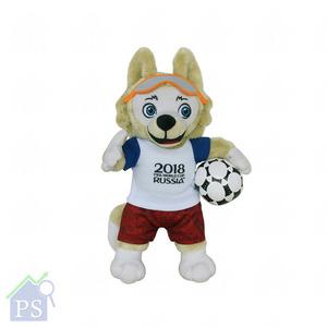 2018 FIFA俄羅斯世界盃吉祥物公仔,每隻售價由160至315元。