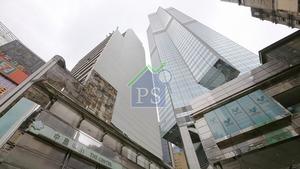 中環中心(圖)75%業權早前獲中港投資者合組財團以402億元購入後,再分拆出售,每層意向呎價由4.8萬至5.5萬元起。